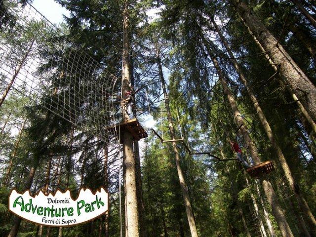 Dolomiti adventure park forni di sopra