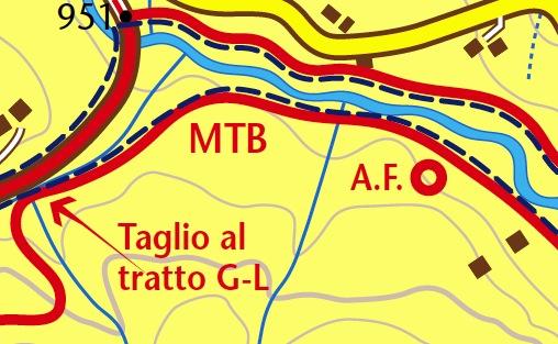 anelli MTB Forni di Sopra